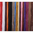 billige Hårfletter-Hår til fletning Rett Dreadlocks / Faux Locs Syntetisk hår 4stk Hårfletter Rød / Svart 60 tommers 59 tommer (ca. 150cm) Fest / Vevd / Kul Fest / Hverdag / Stadie African Braids