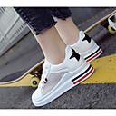 olcso Női sportcipők-Női Kényelmes cipők Háló Tavasz Sportcipők Gyalogló Lapos Rózsaszín és fehér / Fekete / fehér / Fehér és Zöld