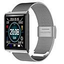 baratos Smartwatches-Pulseira inteligente JSBP-N98 para Android iOS Bluetooth Esportivo Impermeável Monitor de Batimento Cardíaco Medição de Pressão Sanguínea Tela de toque Podômetro Aviso de Chamada Monitor de Atividade