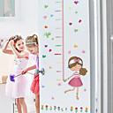 levne Samolepky na zeď-Samolepky na výšku - Lidé na zeď nálepky Krajina Obývací pokoj / Ložnice / Koupelna