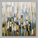 cheap Rolled Canvas Paintings-Oil Painting Hand Painted - Floral / Botanical Modern Stretched Canvas