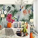 preiswerte Wand-Sticker-Tapete / Wandgemälde Segeltuch Wandverkleidung - Klebstoff erforderlich Blumen / Muster / 3D