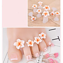 cheap Necklaces-8pcs Silicon Nail DIY Tools For Toe Fashionable Design Romance nail art Manicure Pedicure Flower Daily Wear