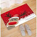 preiswerte Other Geh?use Organisation-Fußmatten Weihnachten Korallen-Velvet, Quadratisch Gehobene Qualität Teppich