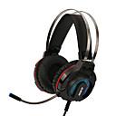 tanie OBD-AJAZZ AX260 Opaska na głowę Kable Słuchawki Słuchawka Inny rodzaj skóry / Plasikowa obudowa / Metal Hazard Słuchawka Stereo / z mikrofonem / Z kontrolą głośności Zestaw słuchawkowy