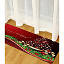 זול שטיחים-שטח שטיחים חג מולד polyster, מלבן איכות מעולה שָׁטִיחַ / החלקה ללא לטקס