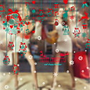 cheap Holiday Deals-Christmas Ornaments Holiday PVC Square Novelty Christmas Decoration