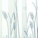 halpa Ikkunoiden verhot-Moderni Läpinäkyvät verhot Shades 2 paneeli Sheer / Makuuhuone