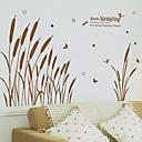 ieftine Acțibilde de Perete-Autocolante de Perete Decorative - Autocolante perete plane Floral / Botanic Sufragerie / Dormitor / Baie