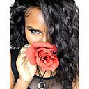 cheap Human Hair Wigs-Human Hair Lace Front Wig Brazilian Hair / Burmese Hair Water Wave Wig Bob Haircut 130% Women / Easy dressing / Best Quality Natural Women's Short Human Hair Lace Wig