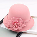cheap Christmas Decorations-Other Material Hats with Flower 1pc Wedding / Party / Evening Headpiece