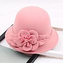 baratos Perucas Sintéticas com Renda-Outros Material Chapéus com Flor 1pç Casamento / Festa / Noite Capacete