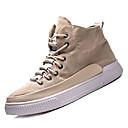 cheap Men's Slip-ons & Loafers-Men's Linen Fall Comfort Sneakers Black / Khaki