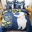 cheap Cartoon Duvet Covers-Duvet Cover Sets Cartoon 100% Cotton Reactive Print 4 Piece