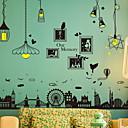 billige Veggklistremerker-Dekorative Mur Klistermærker - Fly vægklistermærker Abstrakt / Landskap Innendørs