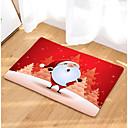זול שטיחים-חג המולד doormats חג המולד flannelette, מרובע מדרגה באיכות מעולה