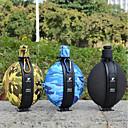 رخيصةأون معدات، منظفات، و مرطبات-زجاجات المياه أزرق, قابلة للطى, متعددة الوظائف التخييم والتنزه / للجنسين / السفر جيل سيليكا أخضر / أزرق / CalfWidth - 1 pcs