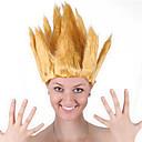 olcso Jelmez paróka-Szintetikus parókák / Jelmez parókák Férfi / Női Egyenes Piros Bob frizura Szintetikus haj 20 hüvelyk Szerepjáték / Parti / Az európai Piros / Barna Paróka Közepes hosszúságú Géppel készített Piros