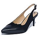 ieftine Sandale de Damă-Pentru femei Pantofi PU Vară Confortabili Tocuri Toc Stilat Negru / Migdală