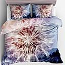 preiswerte Covers 3D Duvet-Bettbezug-Sets 3D Polyester Reaktivdruck 3 Stück / 3-teilig (1 Bettbezug, 2 Kissenbezüge)