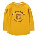 ieftine Seturi Îmbrăcăminte Băieți-Copii Băieți De Bază Geometric Manșon Lung Bumbac / Poliester Hanorac Alb 110