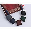 זול סטים של תכשיטים-בגדי ריקוד נשים קלוע שרשראות הצהרה / שרשרת - יצירתי הצהרה, גאומטרי, הַגזָמָה מגניב קשת 45 cm שרשראות תכשיטים 1pc עבור רחוב, מועדונים