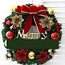 olcso Karácsonyi dekoráció-Girlandok Ünneő PVC Kör Újdonságok Karácsonyi dekoráció