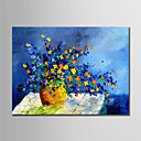 ieftine Picturi în Ulei-Hang-pictate pictură în ulei Pictat manual - Abstract / Floral / Botanic Modern Fără a cadru interior / Canvas laminat