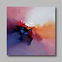 billige Dyremalerier-Hang malte oljemaleri Håndmalte - Abstrakt Moderne Inkluder indre ramme / Stretched Canvas