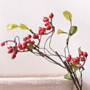 olcso Mesterséges növények-Művirágok 1 Ág Klasszikus Modern / kortárs / Rusztikus Stílus Gyümölcs Asztali virág