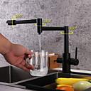 זול ברזים למטבח-ברז מטבח - שתי ידיות חור אחד גימור צבוע תקן Spout / פוט פילר רכוב על סיפון עכשווי Kitchen Taps