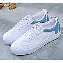 ieftine Tocuri de Damă-Pentru femei Pantofi PU Primăvara & toamnă Confortabili Adidași Toc Drept Negru / Rosu / Albastru