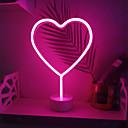 preiswerte Nagel-Funkeln-1 set LOVE LED-Nachtlicht RGB AA-Batterien angetrieben Kreativ / Hochzeit / Sicherheit Batterie / <5 V