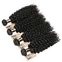 voordelige Gereedschap & Accessoires-4 bundels Indiaas haar Kinky Curly 8A Echt haar Menselijk haar weeft Bundle Hair Een Pack Solution 8-28 inch(es) Natuurlijke Kleur Menselijk haar weeft uitbreiding Beste kwaliteit Hot Sale Extensions