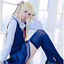 hesapli Anime Kostümleri-Esinlenen Saekano: Bir Sıkıcı Kız Arkadaşını Nasıl Artırırsınız? Eriri / Kız öğrenciler Anime Cosplay Kostümleri Cosplay Takımları Basit Kravat / Etekler / Top Uyumluluk Kadın's