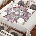 halpa Pöytäliinat-Nykyaikainen Puuvilla Neliö Table Cloths Geometrinen Pöytäkoristeet 1 pcs