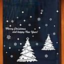 baratos Luzes de Chão-Filme de Janelas e Adesivos Decoração Natal Férias PVC Adesivo de Janela