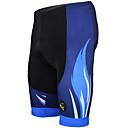 billige Sett med sykkeltrøyer og shorts/bukser-ILPALADINO Herre Fôrede sykkelshorts Sykkel Shorts / Fôrede shorts / Bunner 3D Pute, Fort Tørring, Ultraviolet Motstandsdyktig Stribe