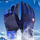 cheap Men's Oxfords-Sports Gloves Bike Gloves / Cycling Gloves / Touch Gloves Windproof / Waterproof / Keep Warm Full finger Gloves Lycra Spandex Cycling / Bike Unisex