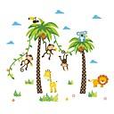 billiga Väggklistermärken-Dekrativa Väggstickers - Väggstickers Flygplan / Animal Wall Stickers Djur / Blommig / Botanisk Barnkammare / Barnrum / Tvättbar