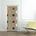 رخيصةأون ملصقات الحائط-ملصقات الباب - لواصق أشكال / ديني غرفة الجلوس / غرفة النوم