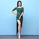 cheap Belly Dance Wear-Belly Dance Dresses Women's Performance Modal Split Joint Half Sleeve Dress