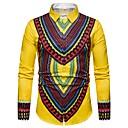 tanie Adidasy męskie-męska koszula - plemienna koszula kołnierzyk