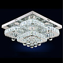 tanie Mocowanie przysufitowe-UMEI™ Okrągły / Kryształ / Geometric Shape Podtynkowy Światło rozproszone Galwanizowany Metal Kryształ, Regulowany, Przygaszanie 110-120V / 220-240V Ciepła biel / Biały Źródło światła LED w zestawie