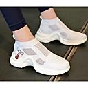abordables Zapatos de Ciclismo-Mujer Zapatos Confort Malla Verano Zapatillas de Atletismo Running Tacón Bajo Negro / Gris / Rojo