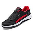 זול נעלי ספורט לגברים-בגדי ריקוד גברים נעלי נוחות רשת / PU סתיו ספורטיבי נעלי אתלטיקה ריצה ללא החלקה קולור בלוק שחור / אפור / חום
