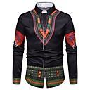זול נעלי ספורט לגברים-חולצת גברים - צווארון חולצת השבט