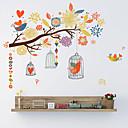 billige Veggklistremerker-Dekorative Mur Klistermærker - Fly vægklistermærker Blomstret / Botanisk Stue / Soverom / Baderom
