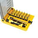 ieftine Surubelniță & Conductoare-Chrome Vanadiu Steel Reparatii telefonice / Reparație Ceas 45 in 1 Seturi unelte
