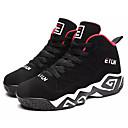 abordables Zapatillas de Deportiva de Hombre-Hombre Zapatos Confort PU Otoño Casual Zapatillas de Atletismo Baloncesto Transpirable Blanco / Negro / Negro / Rojo
